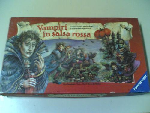 VAMPIRI IN SALSA ROSSA - RAVENSBURGER -