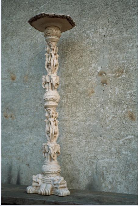 Colonnina stile orientale dettaglio dell 39 oggetto del for Siti di antiquariato
