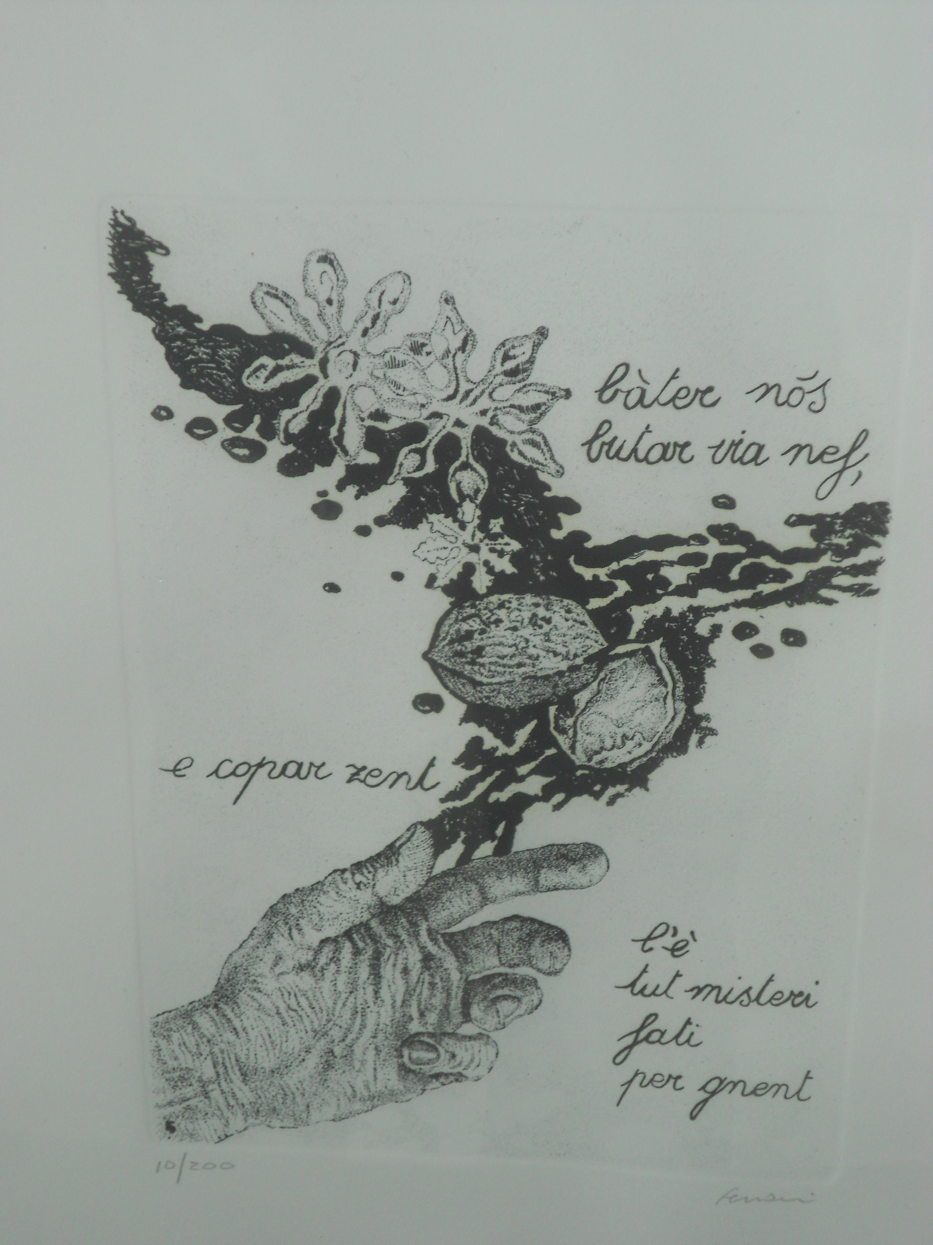 una delle serigrafie