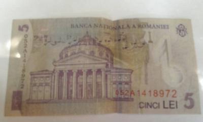 5 lei romeni