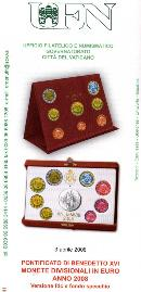 serie divisionale 2008 Vaticano