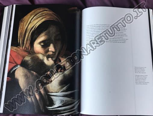 libro commemorativo di Caravaggio, utet,
