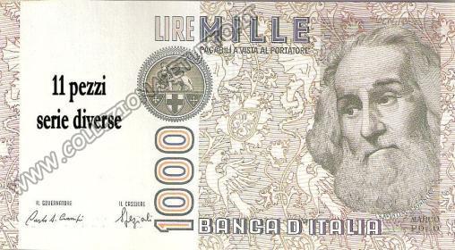 Banconote Lire 1000