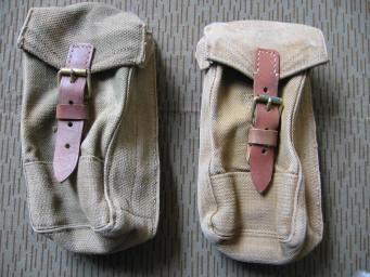 Giberne inglesi tela kaki