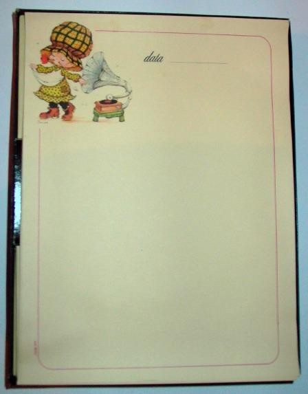 Bonnie bonnets set carta da lettere norex simpatie vintage for Carta da lettere