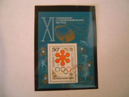 RUSSIA anno 1972 Olimpiadi invernali a S