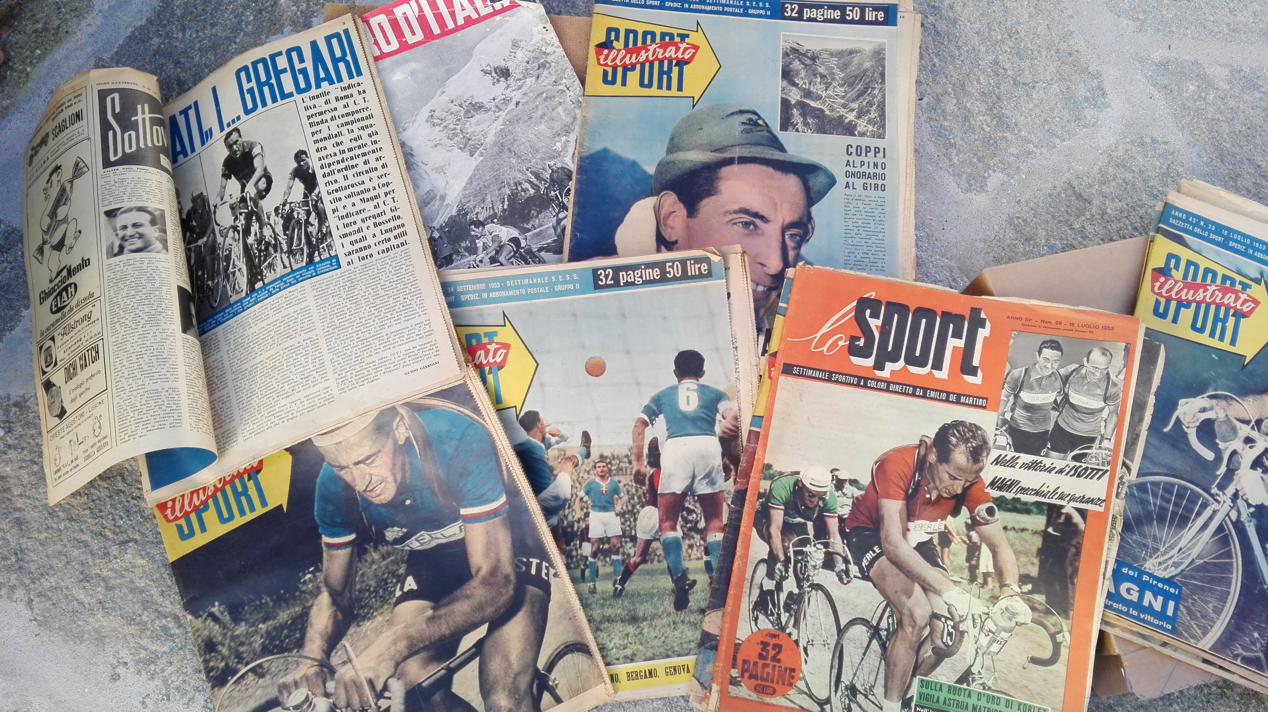Vecchi numeri gazzetta dello sport