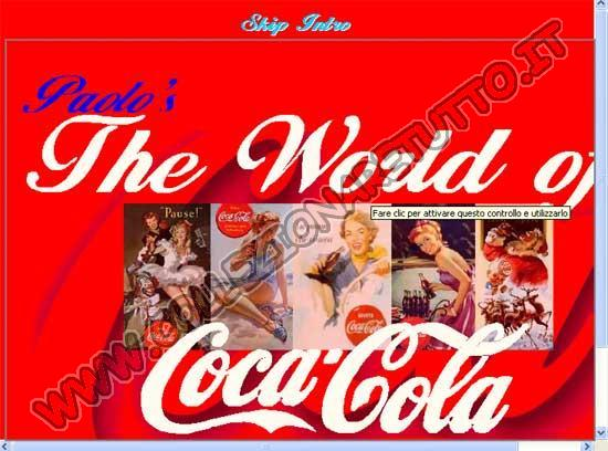 Paolo's the world of Coca-Cola