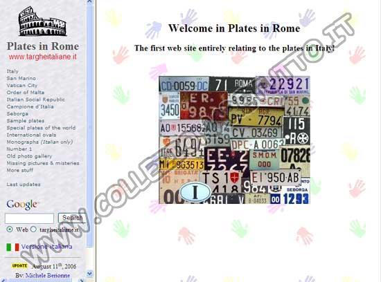 Targhe a Roma
