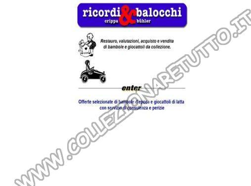 Ricordi & Balocchi