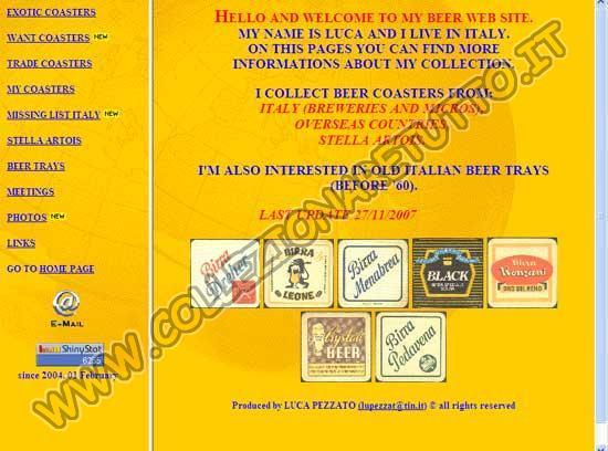Collezioni Sottobicchieri Birra