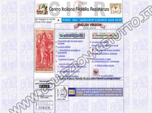Centro Italiano Filatelia Resistenza