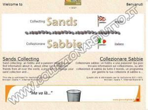 Collezionare Sabbie