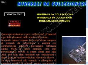 Minerali da Collezionare