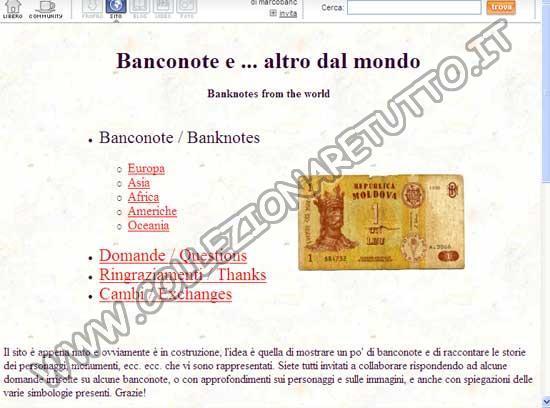 La Collezione di Banconote di Marco