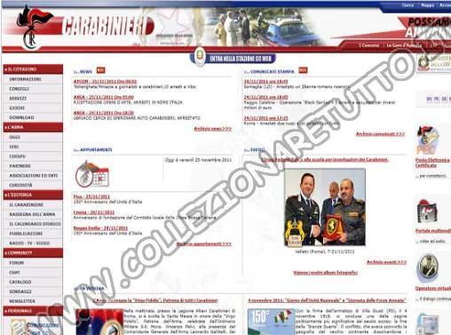 Arma dei Carabinieri - Oggetti Rubati e Recuperati