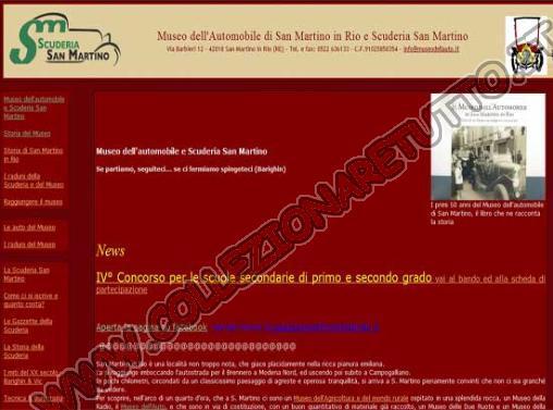 Il Museo dell'Automobile di San Martino