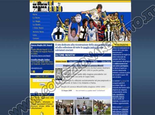 Le Maglie del Parma Calcio