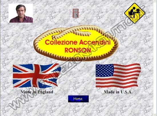 Collezione Accendini Ronson