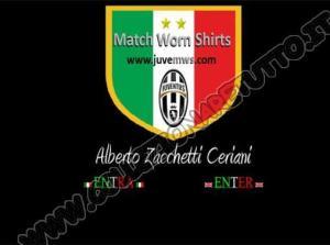 Juventus Match Worn Shirts