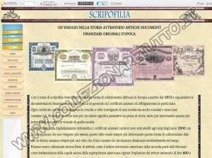 Scripofilia - Certificati Azionari