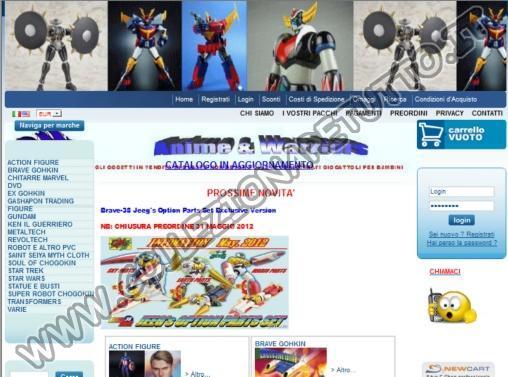Anime & Warriors - Action Figure e Robot
