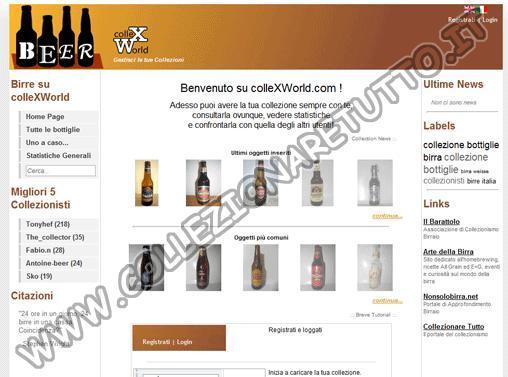 ColleXWorld - Gestisci la tua Collezione